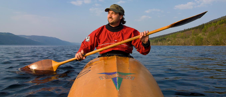 Gereon Roemer, Kanutour bei Loch Ness